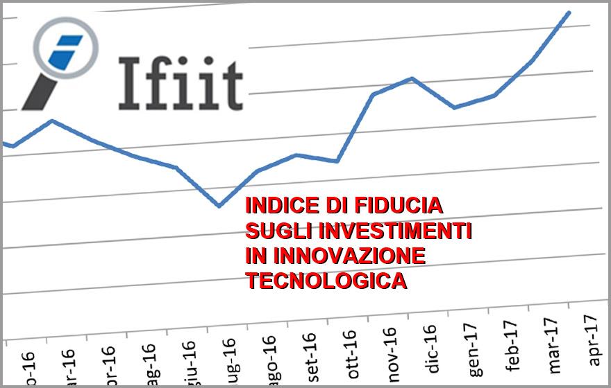 L&#8217;INDICE IFIIT DEL MESE DI APRILE</br>Maggiori investimenti dall'estero, crescita delle esportazioni: l'indice di nuovo in crescita