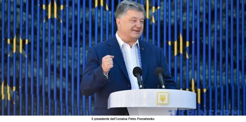Ucraina: un passo verso l'Europa, basta con i visti
