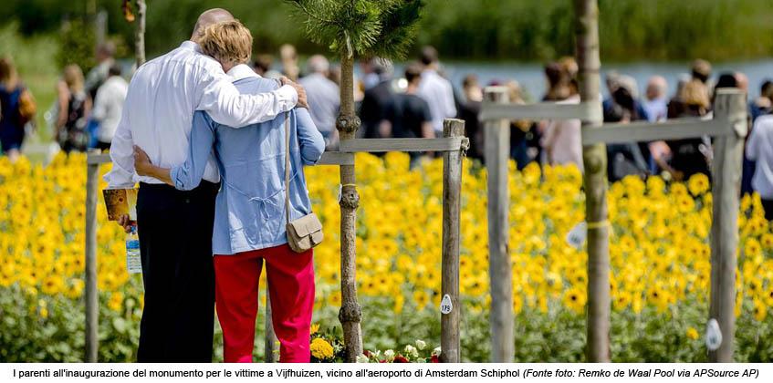 MH17 E IL LIBRO DELLA MEMORIA UCRAINO</br>Quel missile di tre anni fa sui cieli ucraini I familiari delle vittime attendono giustizia