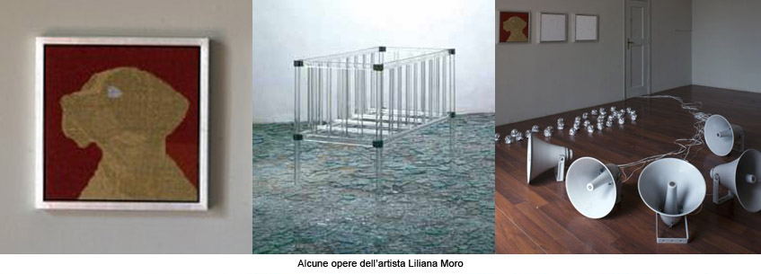 L'arte di Liliana Moro: uno spazio visivo inconsueto a tutto tondo