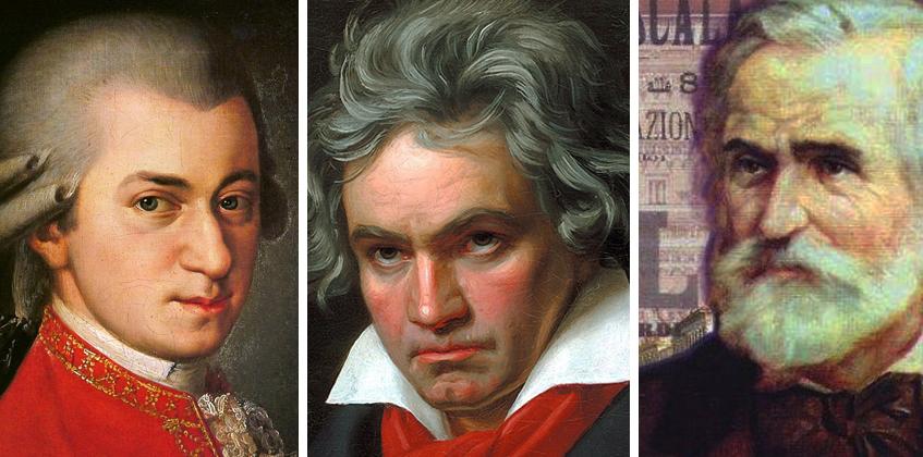 Mozart, Beethoven, Verdi: tre grandi a Milano