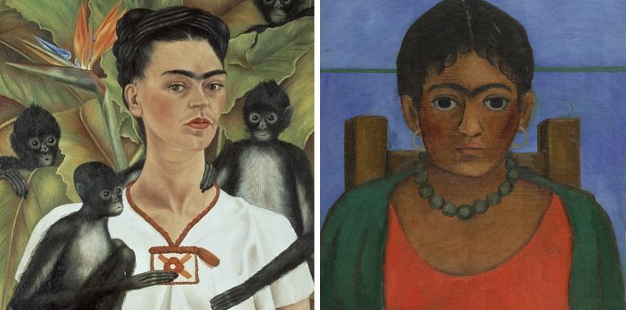 Frida Kahlo, nella pittura la sua drammatica esistenza L'arte interpretata con forza, intimità e anticonformismo