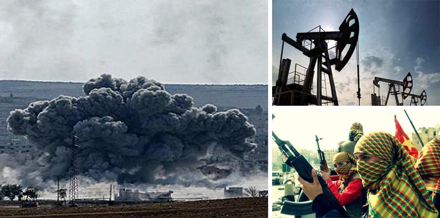 """Quel """"ramoscello d'ulivo"""" della Turchia:  bombe sul Kurdistan, a partire da Afrin"""