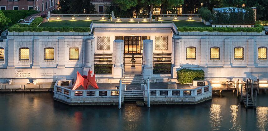 Via all'estate a Venezia Con la collezione  Peggy Guggenheim