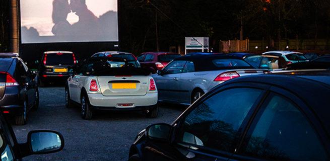 Drive-in cinema a Milano vicino al Parco Nord