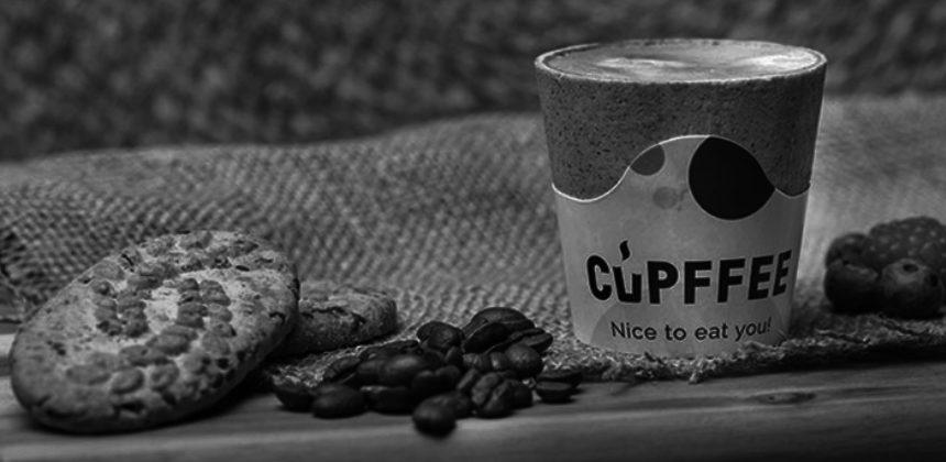 CUPFFEE: BERE UN CAFFÈ <BR>E POI MANGIARE LA TAZZA